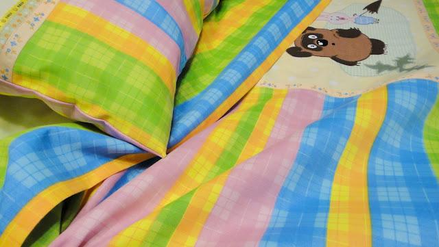 Комплект детского постельного белья ручной работы на заказ: хлопок и фланель. Пододеяльник, наволочка, овальная простыня на резинке