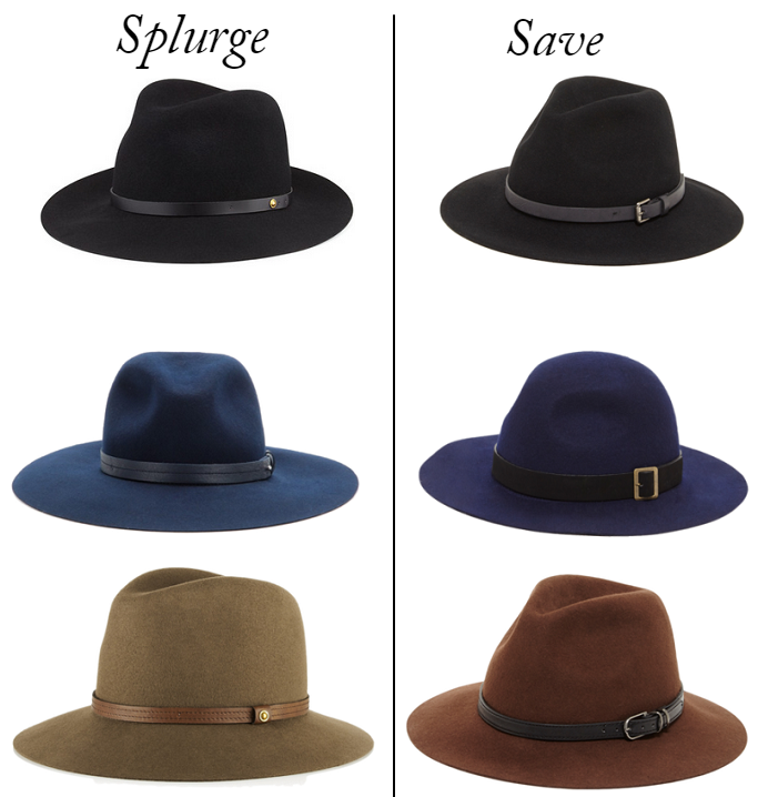 Wool Fedora Hats, Rag And Bone Wool Fedora, Flippy Brim Fedora, Wool Fedora Hat on a budget