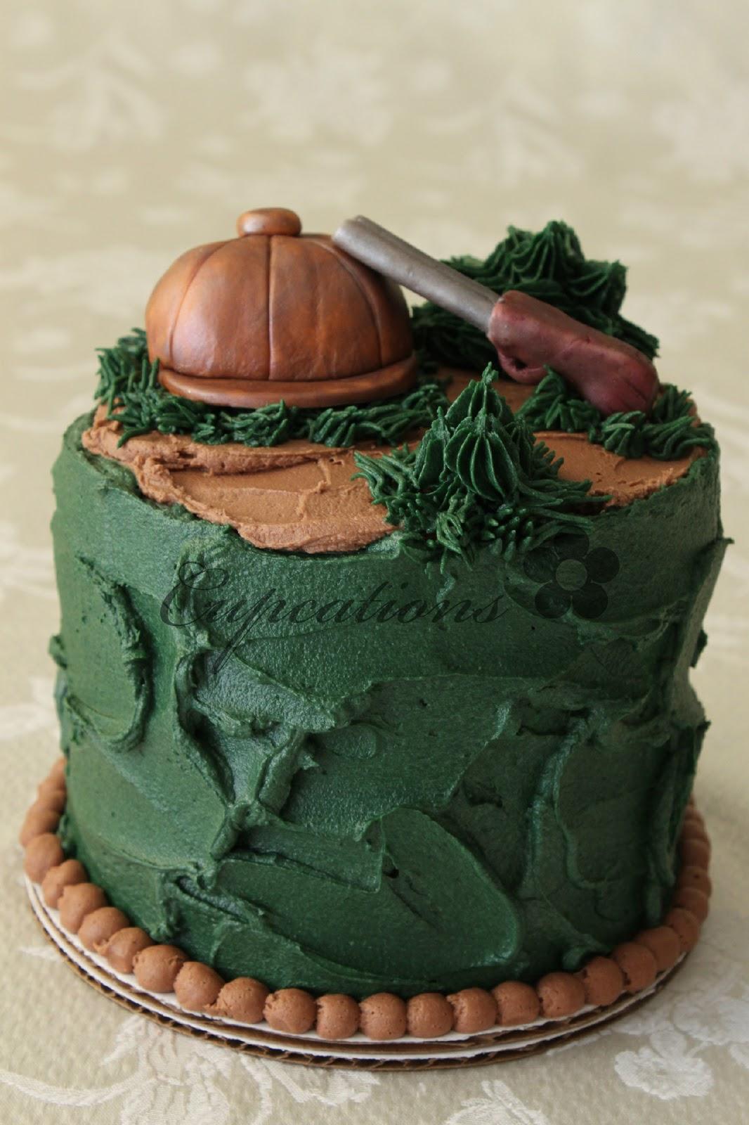 Cupcations Hunters Cake