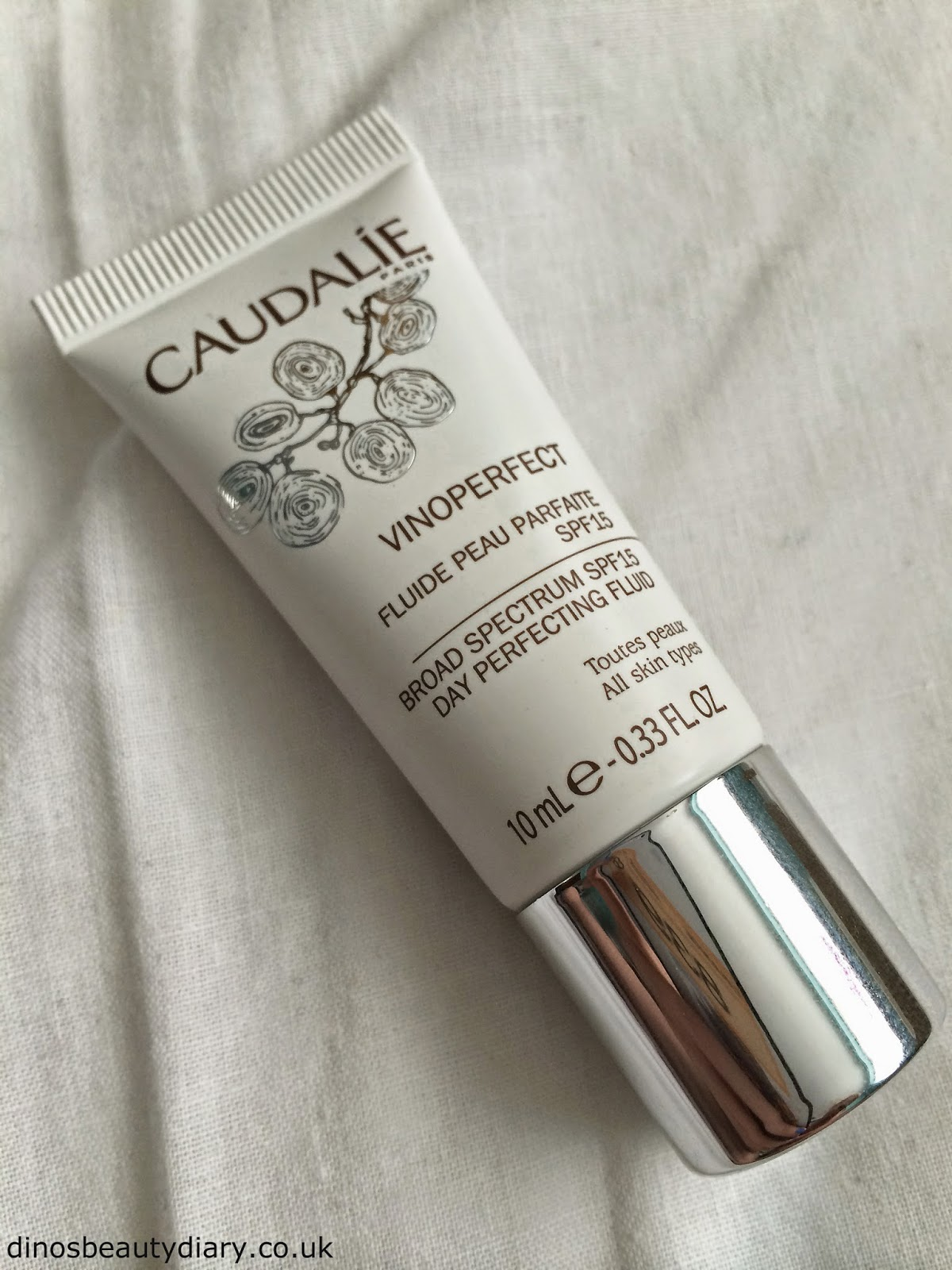 Dinos Beauty Diary - June and July Birchbox - Caudalie Day Perfecting Fluid