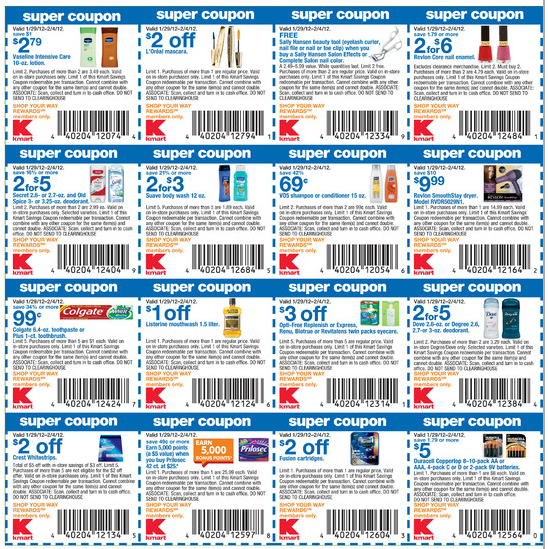 Kmart coupons promo codes