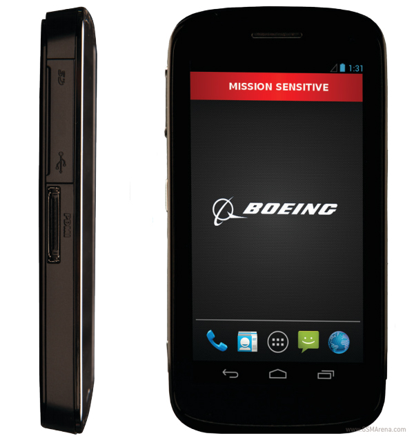 What is the price of Boeing Black Android Phone