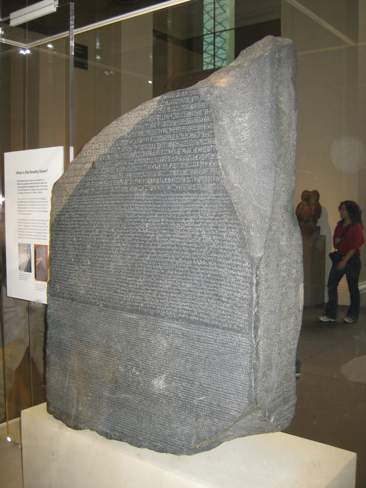 RussBLib - what the ....: London - Day 4 Rosetta Stone