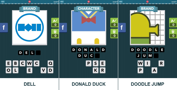 Icomania: cheats, hints, oplossingen en antwoorden - Level 4