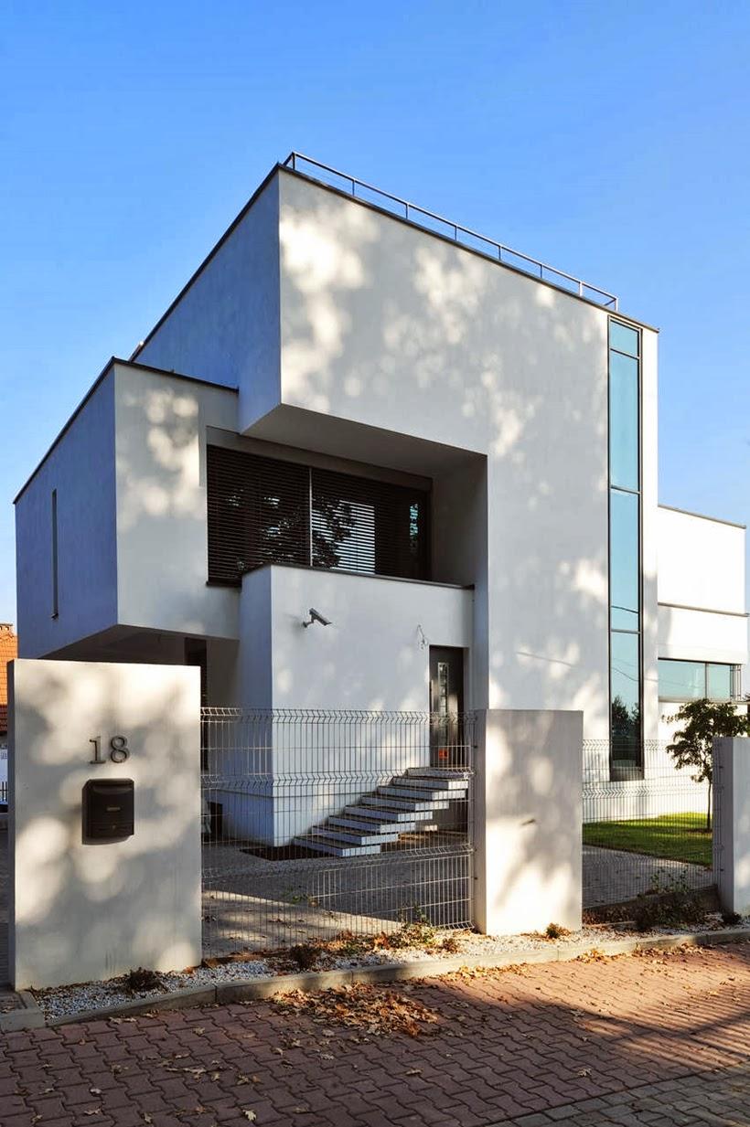 Modern home in Krakow, Poland