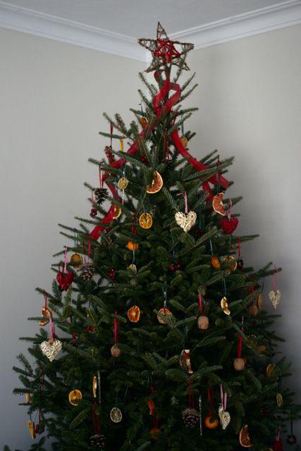 natural christmas tree ornaments - Natural Christmas Tree