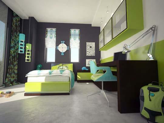 Cool Kids Room Design Ideas In 2013