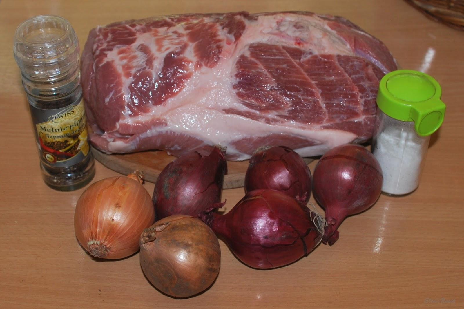 Пошаговый рецепт шашлыка из свинины с уксусом