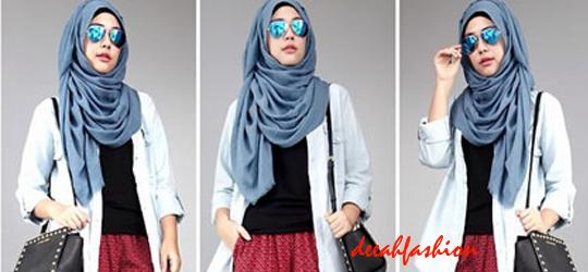 Jilbab Gaya Baru Trend Fashion Hijab