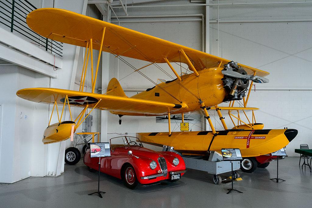 """1935 NAF N3N """"Canary"""""""