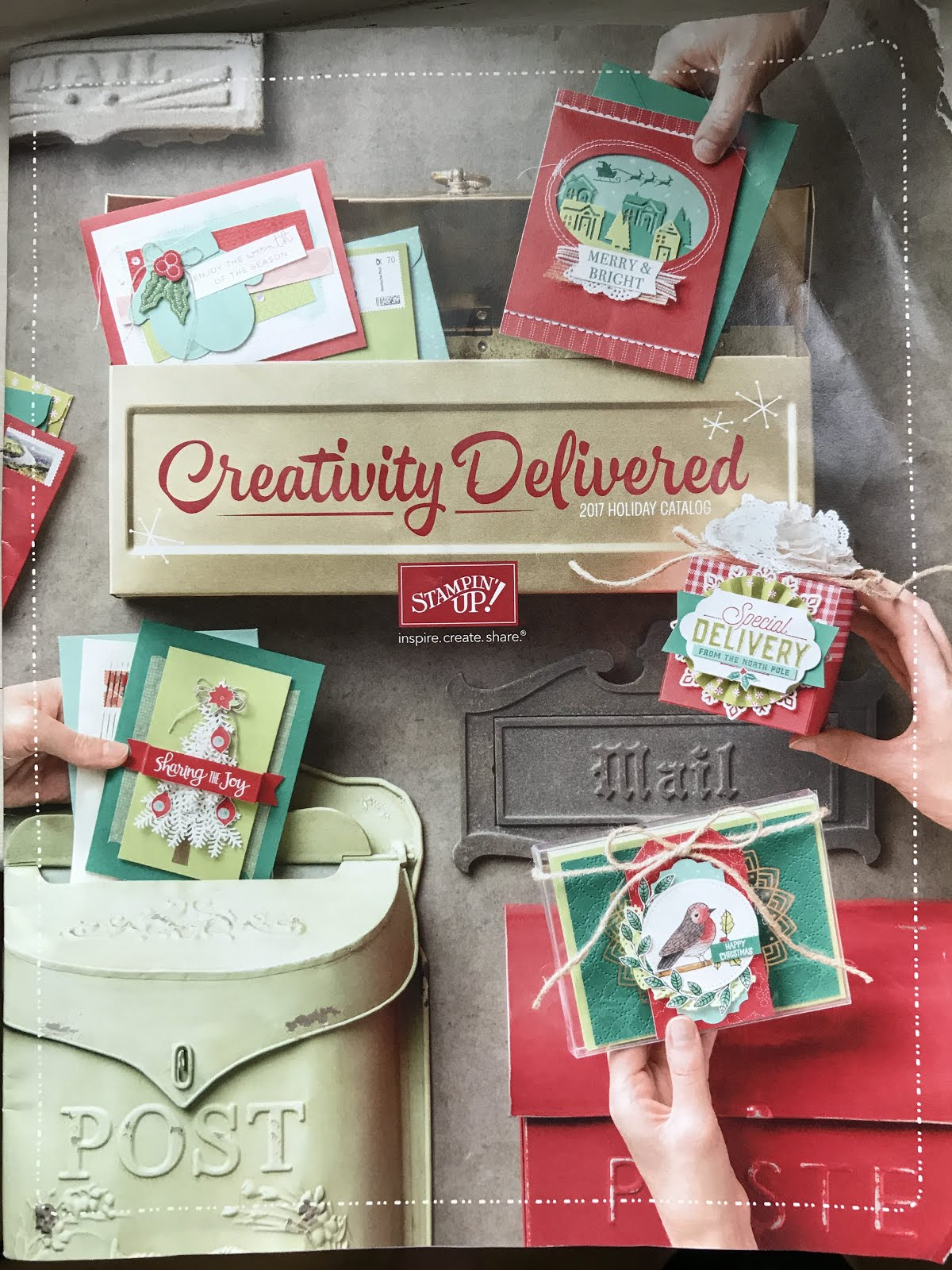 Stampin' Up! Holiday 2017 catalog
