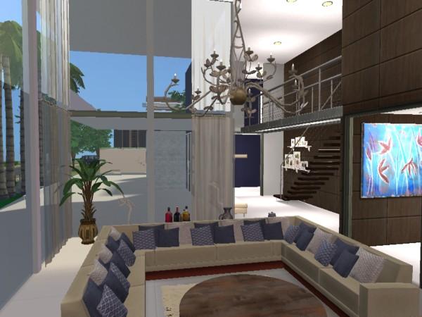 The sims 2 the sims 2 casa moderna 20 for Casa moderna los sims 3