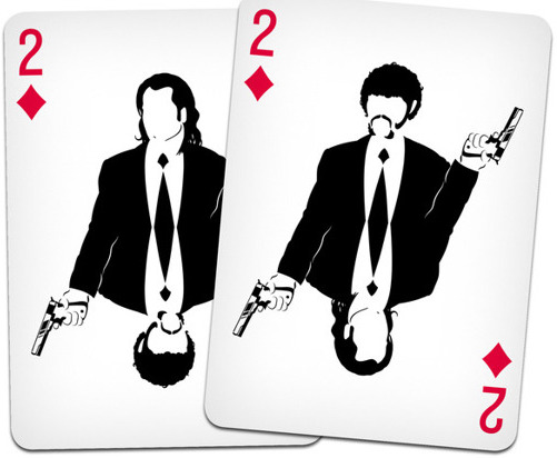 Cult Movie Playing Cards