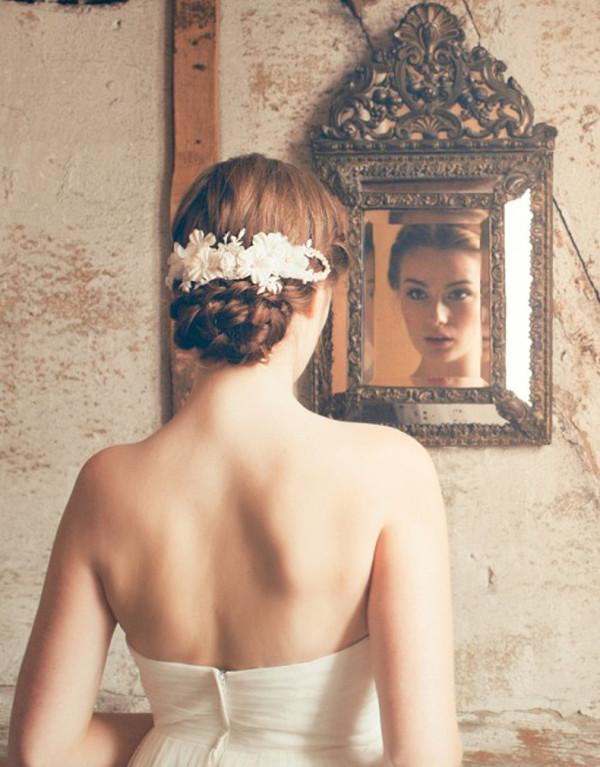 wedding, wedding hairstyles, wedding hair, wedding hair inspiration, vintage wedding hair, bridal hair, bridal hair style, bridesmaid hair