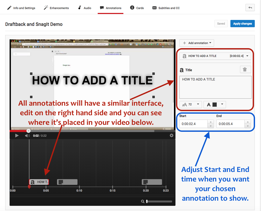 Annotating Documents Is So Helpful For Teachers, What More Videos You No  Longer Need To