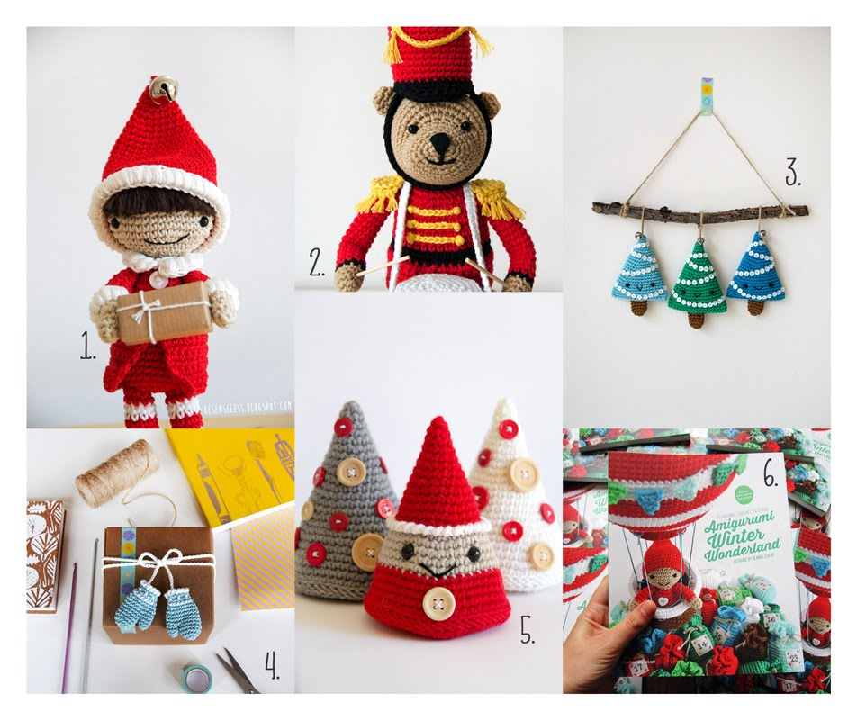 Amigurumi Tutorial Natale : Airali design. Where is the Wonderland? Crochet, knit and ...