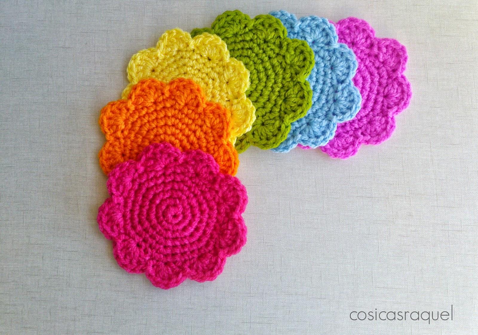 Cosicasraquel posavasos de crochet - Manualidades a ganchillo ...