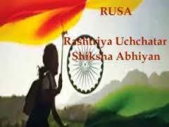 Rashtriya Uchchatara Shiksha Abhiyan.