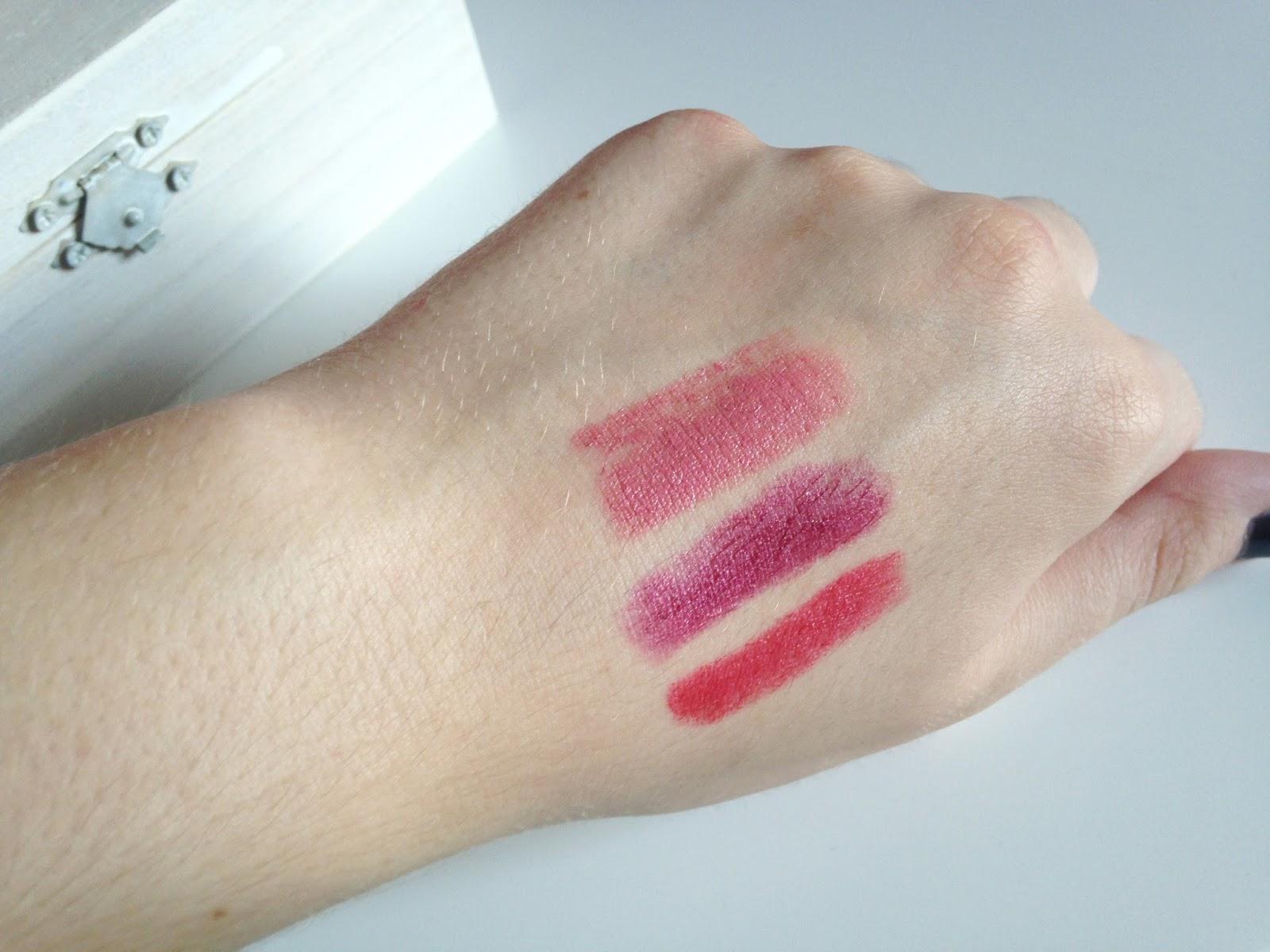 Calvin Klein Lipstick Swatches Ethereal Desire Cosmopolitan