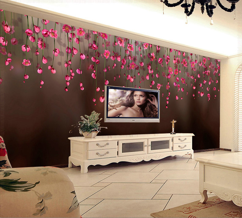 3d Wallpaper Stickers For Tv Wall Units Designs Home