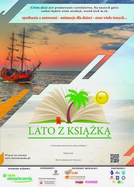 Wydarzenie! Lato z książką 2014 (Łeba, Mikołajki, Szczyrk)