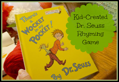 dr seuss rhyming game for kids