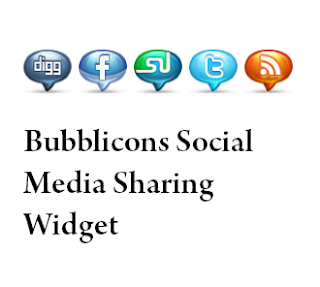 Bubblicons Social Media Sharing Widget