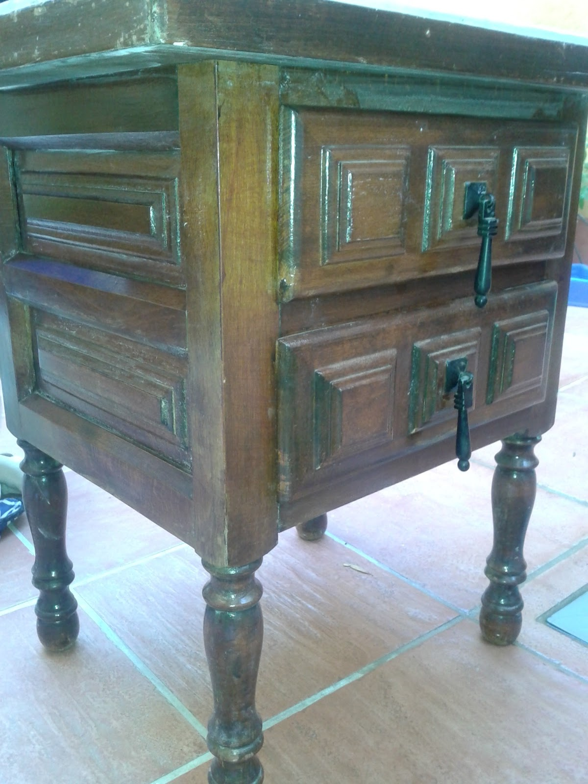 Crizank mosaicos quieres modernizar tus muebles o - Modernizar muebles antiguos ...