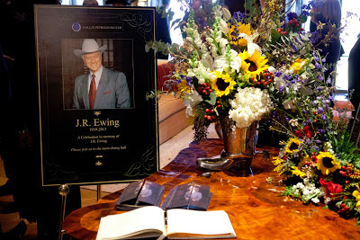 A melancholy happy trails to J.R. Ewing