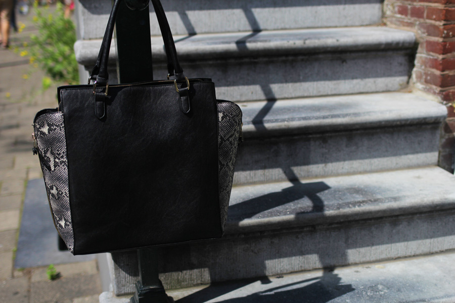 gina tricot shopping bag