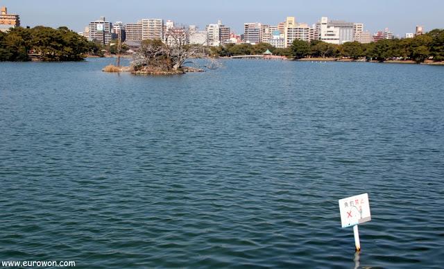 Lago del Parque Ohori