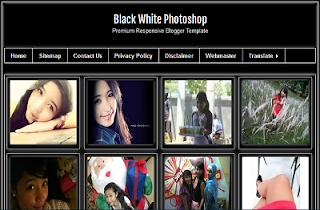 Template Premium Responsive Gratis Fotografi Wallpaper