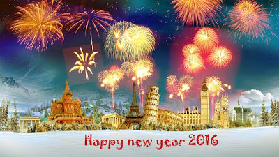 New Year 2016 greetings