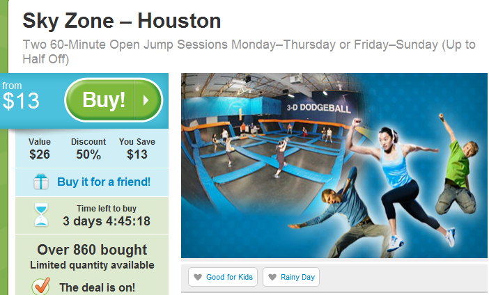 Sky zone coupons and discounts