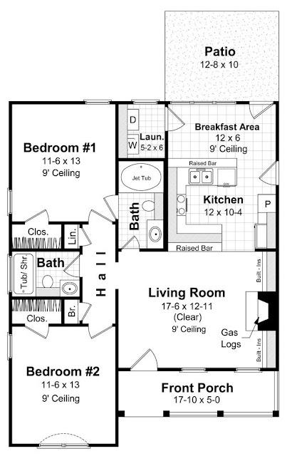 مخطط خرائط منازل صغيرة