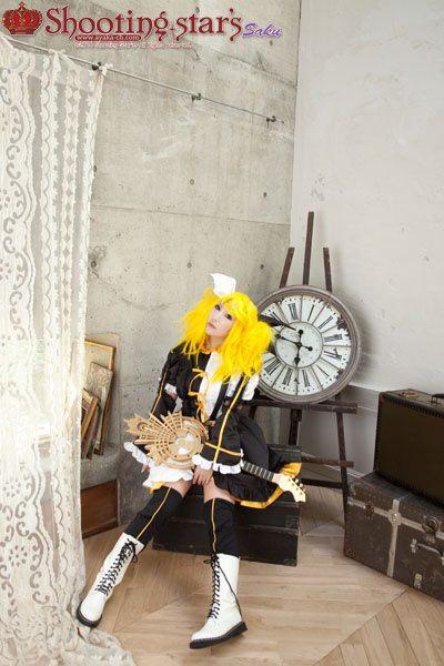 CosRain.Com Sakuya's COSPLAY - Rin Kagamine