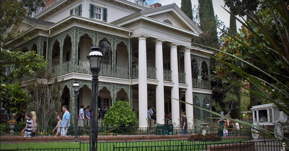 Malaysian meanders disney 39 s haunted mansions around the world for Mansions around the world