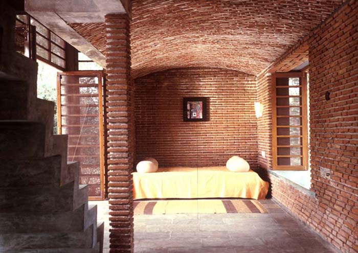 Residence in Auroville, India