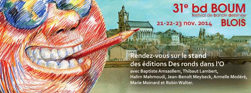 Festival BD Boum de Blois - 21, 22 et 23 novembre 2014 (+ d'infos)