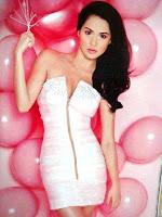 Marian Rivera Pink Balloons