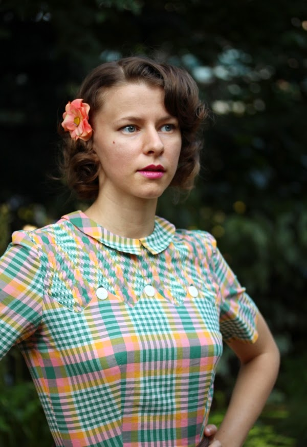 1950s Walk in the Park Outfit #vintage #fashion #1950s #dress
