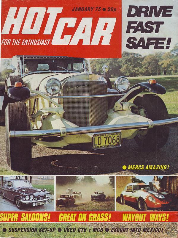 Hot Car magazine - January 1973 | Engine Punk