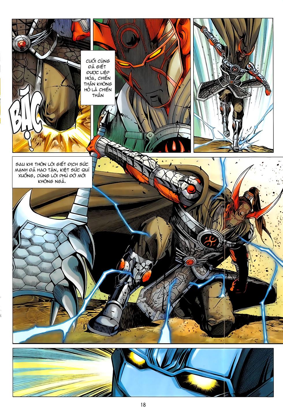 Chiến Phổ chap 19 - Trang 18