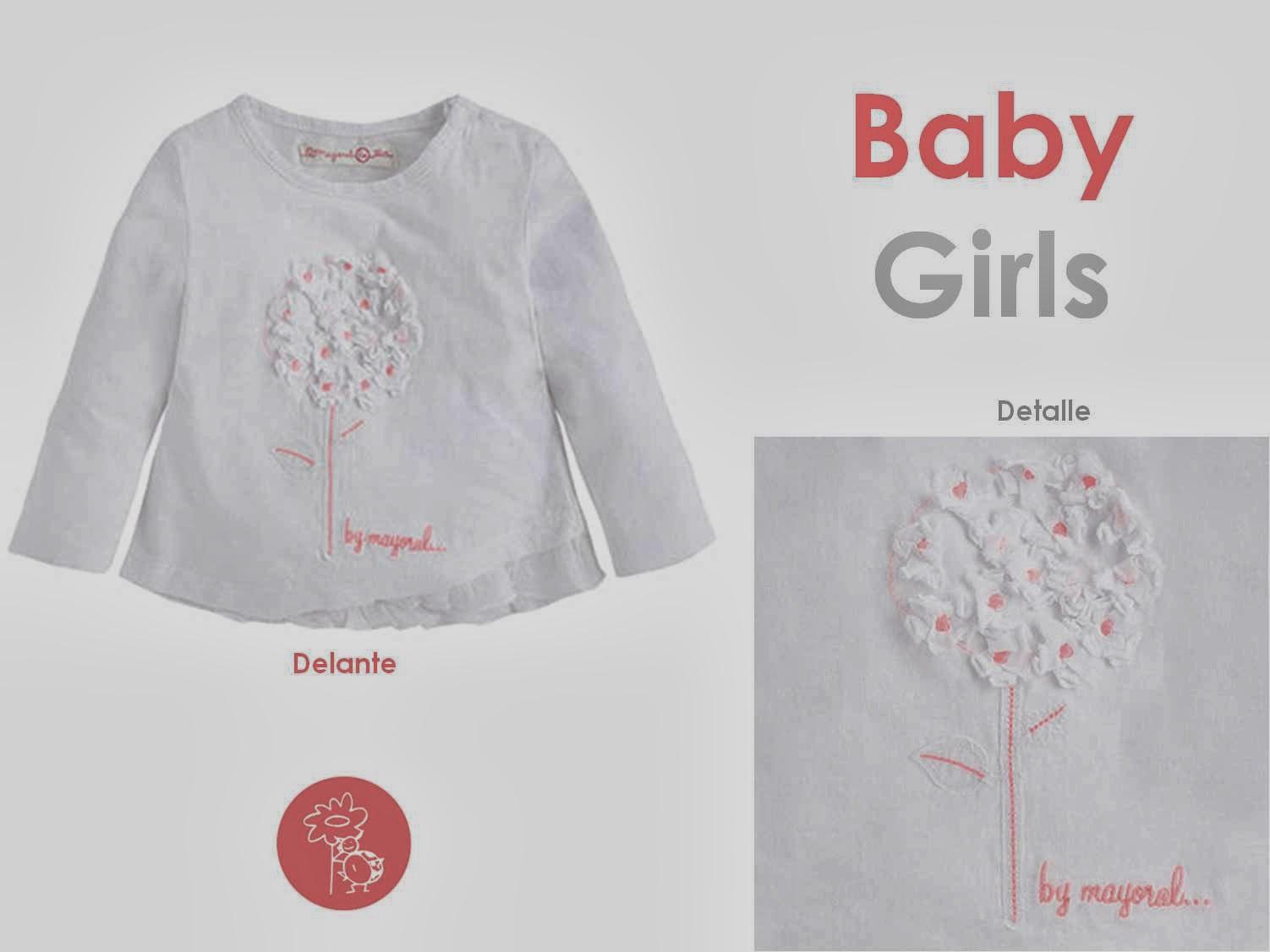 Mayoral manga larga flor niña en Blog Retamal moda infantil y bebe