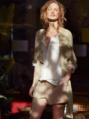 moda mujer primavera Massimo Dutti short cárdigan