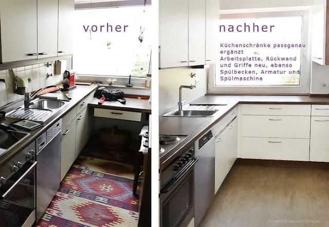 Küche renovieren, modernisieren -  wir erneuern Ihre Küche und Haushaltsgeräte, Spülmaschine liefern und einbauen, Arbeitsflächen der Küche erweitern