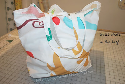 Mass producing gift bags