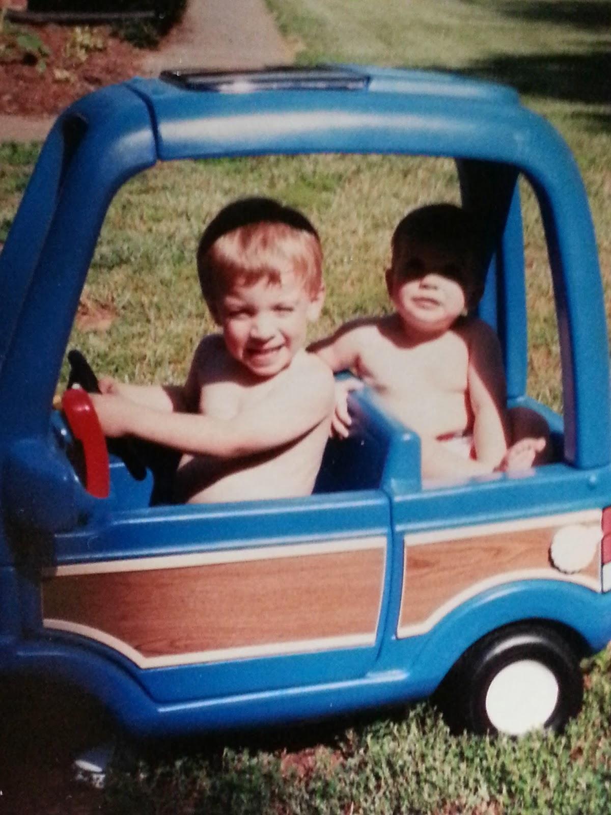 My Boys' First Car   Navigating Hectivity by Micki Bare