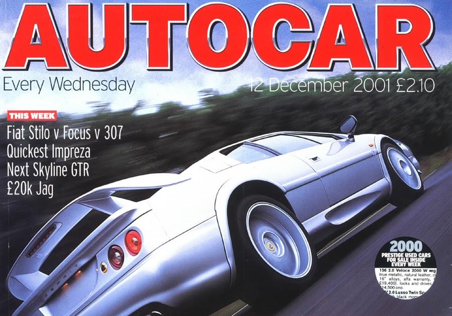 Auto Car Magazine - Desing Car Fuul Time