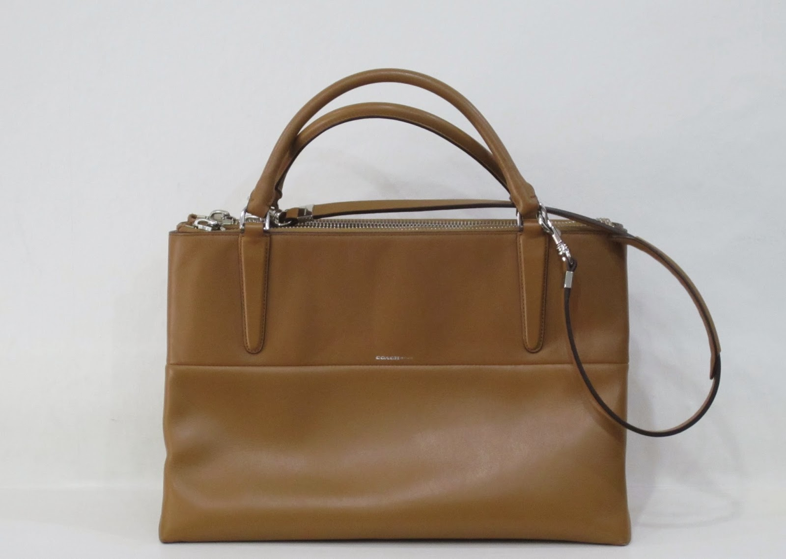 Coach Caramel Leather 'Borough' Bag